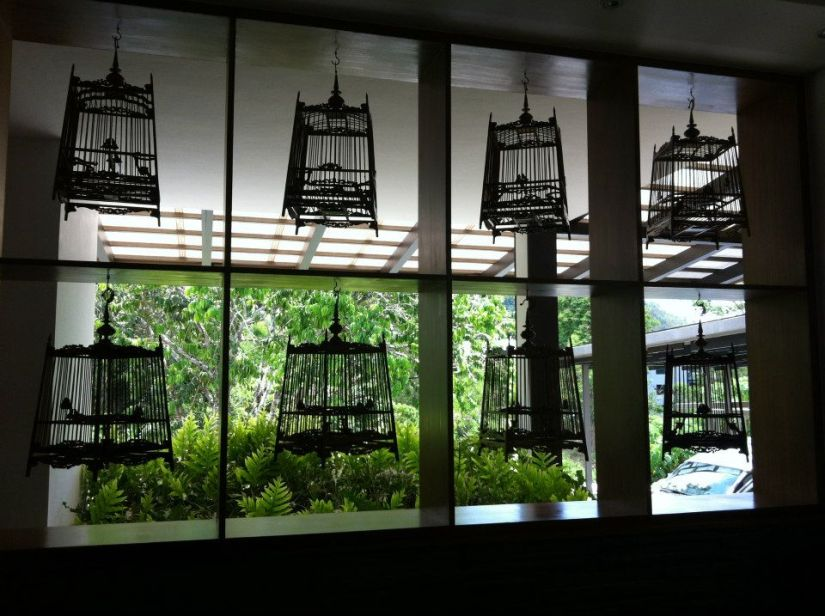 more birdcage deco.