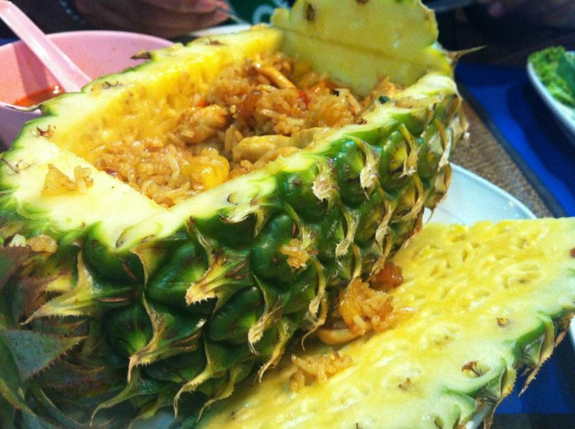 The best Pineapple rice i have ever ate.