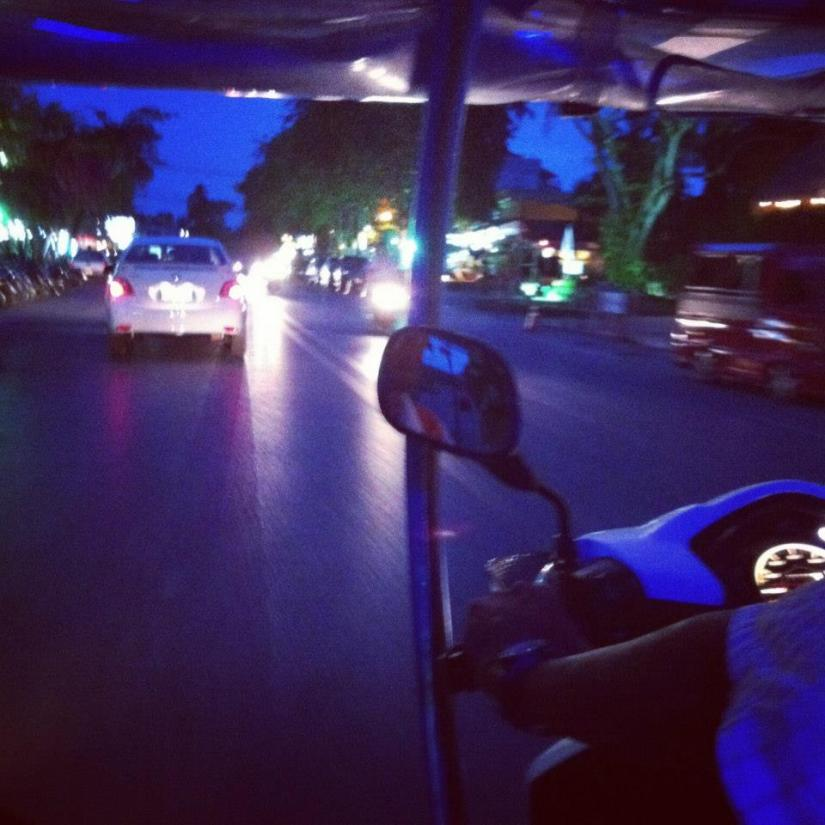 Night out in a Tuk Tuk