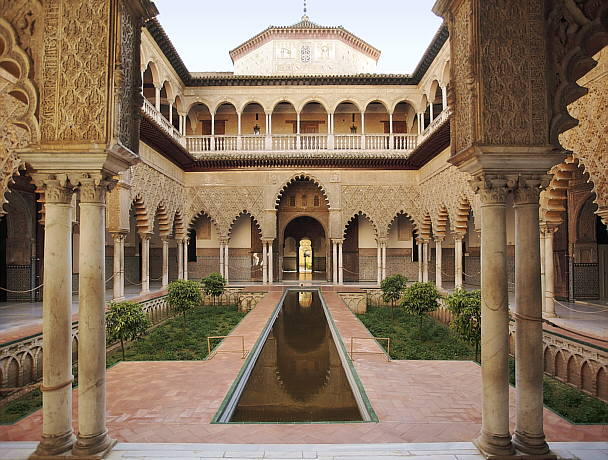 The Alcazar, Seville, Spain
